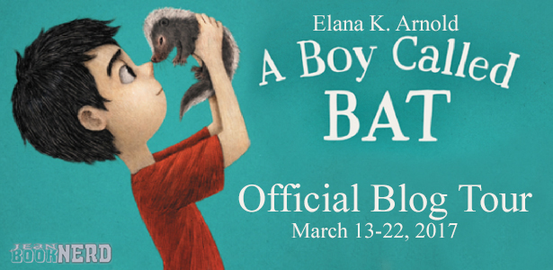 A Boy Called Bat Tour Banner
