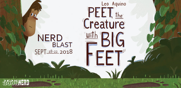 Peet the Creature with Big Feet Nerd Blast Banner