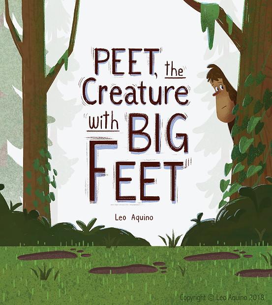 Peet the Creature with Big Feet