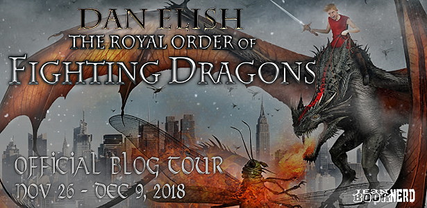The Royal Order of Fighting Dragons Tour Banner